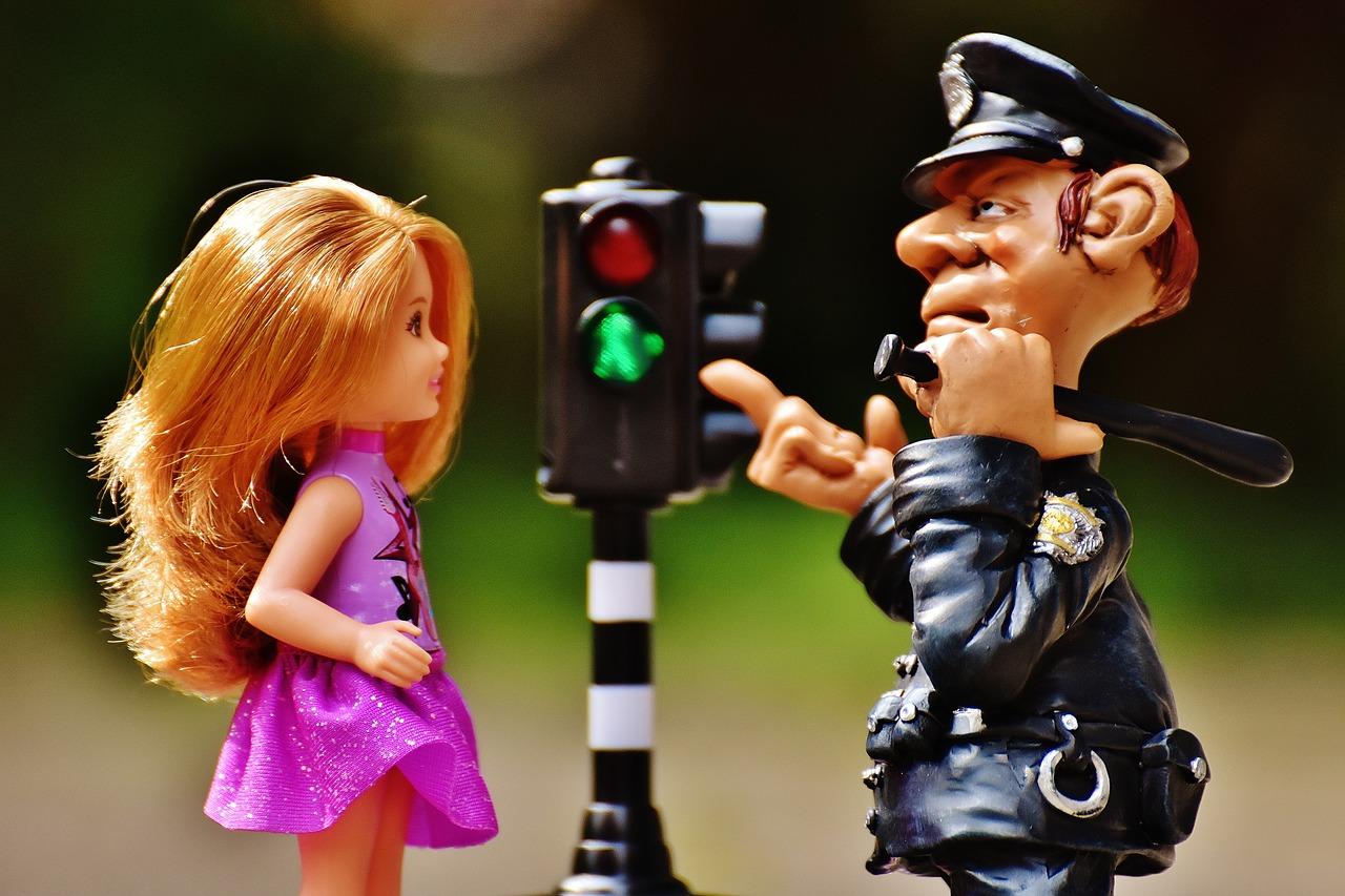 police flirting